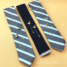 Mens Wholesale Silk Floral Necktie with Lapel Pin Neck Tie