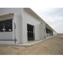 Sandwich-Panel-Stahlstruktur-Hühnerhaus