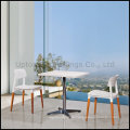 White Restaurant / Cafe / Coffee Shop Table and Chair (SP-CT525)