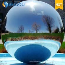 Декоративные надувные мини серебряные золото красные зеркала граненые шары надувные зеркала мяч