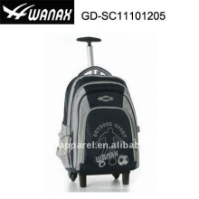 Sports Student Trolley Backpack Wheels Bags