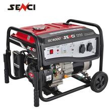 Mini precio para generador de gasolina 3kva generador silencioso para uso doméstico