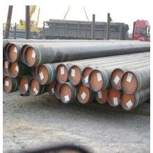 ASTM A53 Tubo de acero sin costura de 219,1 mm / tubo negro / tubo GI