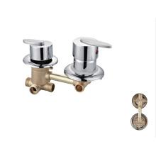 Zhejiang Sanitary Factory supply wall mounted chrome polished  bath shower faucet