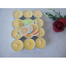 Lemon Yellow Scented Tealight Candle