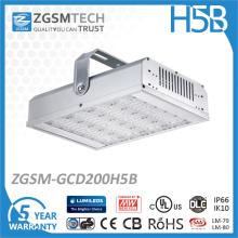200W usou a iluminação alta da baía, luz alta da baía do diodo emissor de luz