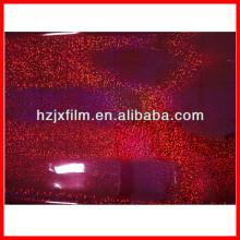 Film multicolore en paillettes en PET / film laser