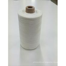 Fio de costura de fibra de vidro de sílica de alta temperatura