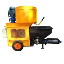 Máquina automática de rociado de mortero con hormigonera