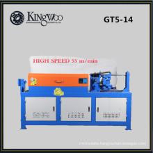 9Kw High speed GT5-14 hydraulic cnc automatic steel bar straightening and cutting machine
