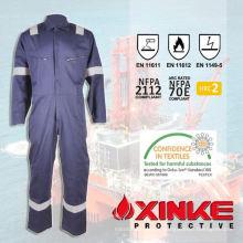costumes de protection contre l'incendie pour le travailleur