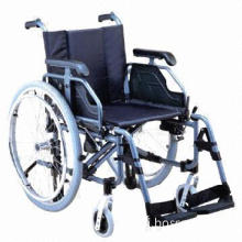 Wheelchair with Adjustable Aluminum Chair Frame