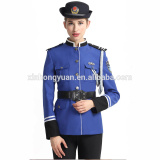 blue marching band uniforms ladies uniform for marching band
