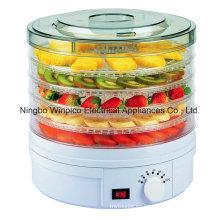 Secadora de fruta eléctrica deshidratadora de 5 capas de alimentos