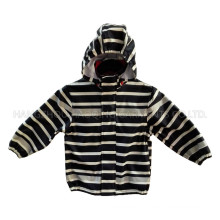 Zebra Reflective PU Rain Jacket/Raincoat