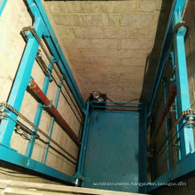 Good quality vertical warehouse cargo lift hydraulic residential freight elevator price