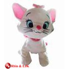 ICTI Audited Fábrica suave peluche anime gato juguetes