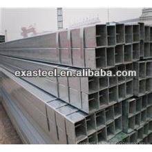 BS1387 Tubo de acero galvanizado rectangular
