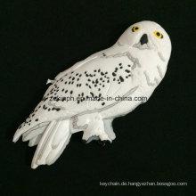 Benutzerdefinierte 3D PVC Papagei Vogel Form Kühlschrankmagnet