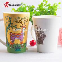 Keramikbecherhersteller kundenspezifischer Druckbecher