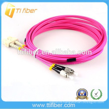 FC-SC MM Duplex 3FT Fiber Optic Patch Cord