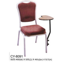 Hotel Aluminum Chair with Tablet