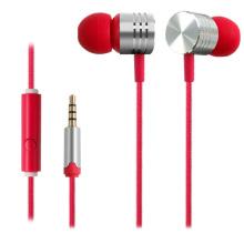 Auriculares estéreo de alta calidad con micrófono para Smartphones