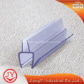 Glass shower screen rubber seal