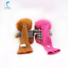 Custom cute teddy bear plush hand puppet
