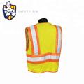Logo Body Hi Vis Warmer Blauer Safety Vest Safety Wear Mesh Fabric
