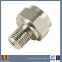 Piezas de mecanizado de rosca torneada por CNC (MQ1046)