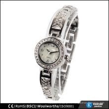 Reloj de pulsera de moda mujeres de Ginebra relojes de cuarzo precio