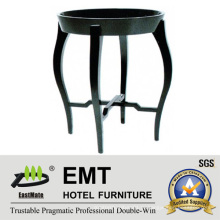 2016 Rubber Wood Piano Lacquer Round Coffee Table (# EMT-CT09)