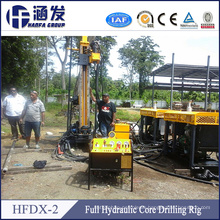 Application in Various Geological Conditions! Hfdx-2 Hydraulic Core Drilling Rig