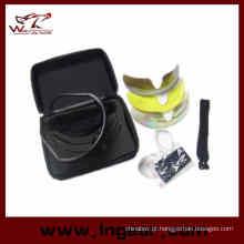 Venda quente C2 Airsoft tiro óculos Tacitcal UV lente