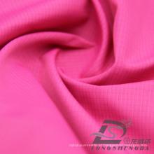 Água e resistente ao vento Sportswear ao ar livre Down Jacket Tecido Plaid Jacquard 100% Filamento Tecido de poliéster (53120)
