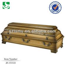hot sale solid cherry coffin box