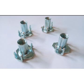 M6x9 Full thread Carbon steel Tee nuts