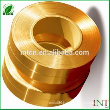 China copper Minerals Metallurgy factory supplies CuZn33 brass strips