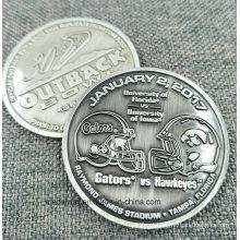 O zinco feito sob encomenda morre fábrica da moeda do metal da lembrança da carcaça