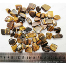 Tiger eye tumbled stone,high polish