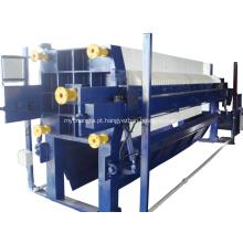O PLC controla a imprensa de filtro Recessed Desliming automática