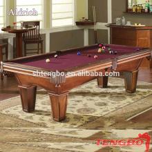 High-Cost-Ball Pool Spiele Leistung American Alaska Billiard Billardtisch