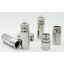 MDI canisters' Plasma coated cans
