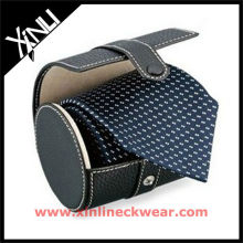 New Collection Leather Necktie Box