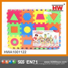 Interesting EVA small foam puzzle 36PCS math learning toy eva foam puzzle