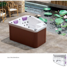 Outdoor Swim SPA Bathtub for Two People (BNG7013)