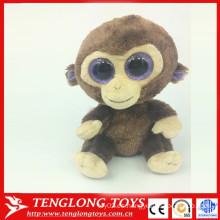 2015 nuevo producto grandes ojos suave juguete ojos grandes animales juguete