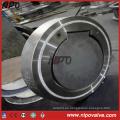 Válvula de retención de acero inoxidable forjado de acero inoxidable