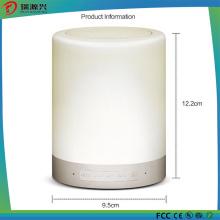 Портативный беспроводной светодиодные лампы Bluetooth динамик (Белый)